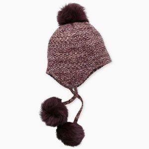 fbd8de6b9be Womens UGG Cashmere Tri Pom Hat